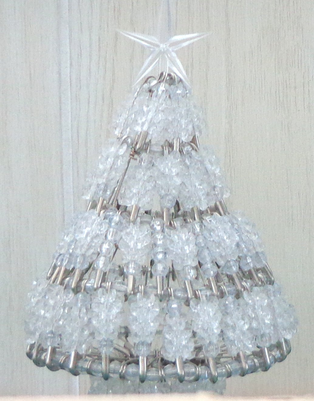 medium beaded christmas tree kit - Crystal Christmas Tree