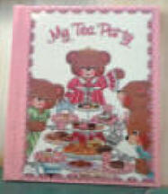 My Tea Party - Personalized Book