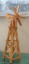 Wooden Windmill Kir